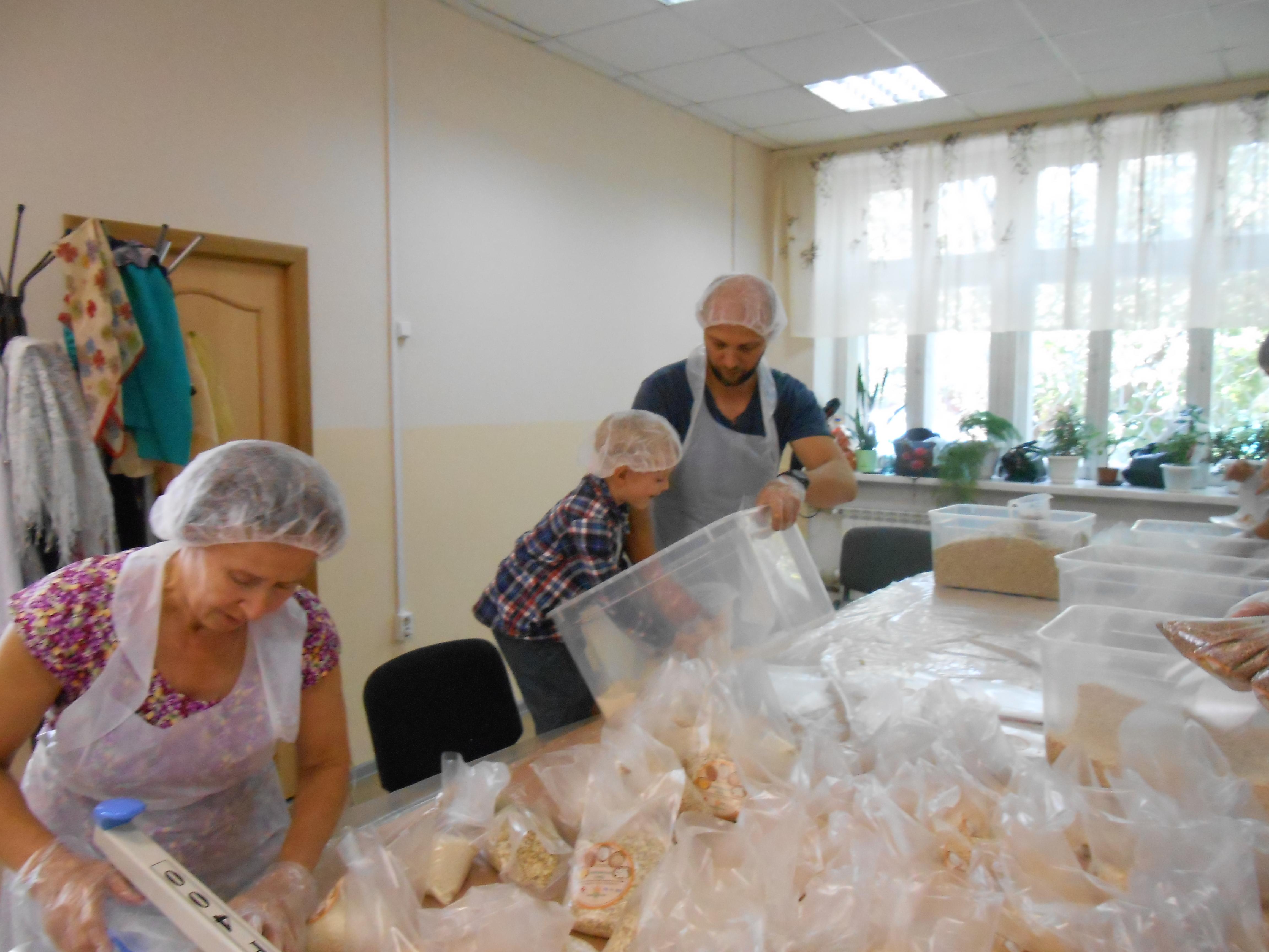 Банк Еды просит избытки продуктов уресторанов Новосибирска