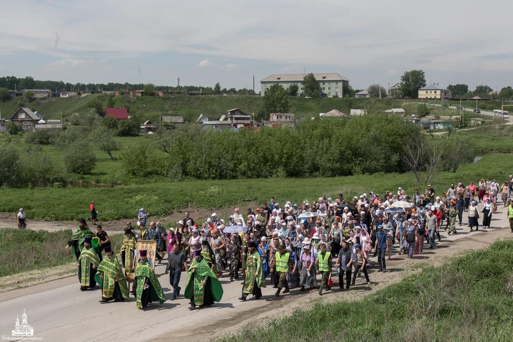 В Новосибирской Митрополии состоялся ежегодный крестный ход «За духовное возрождение России»