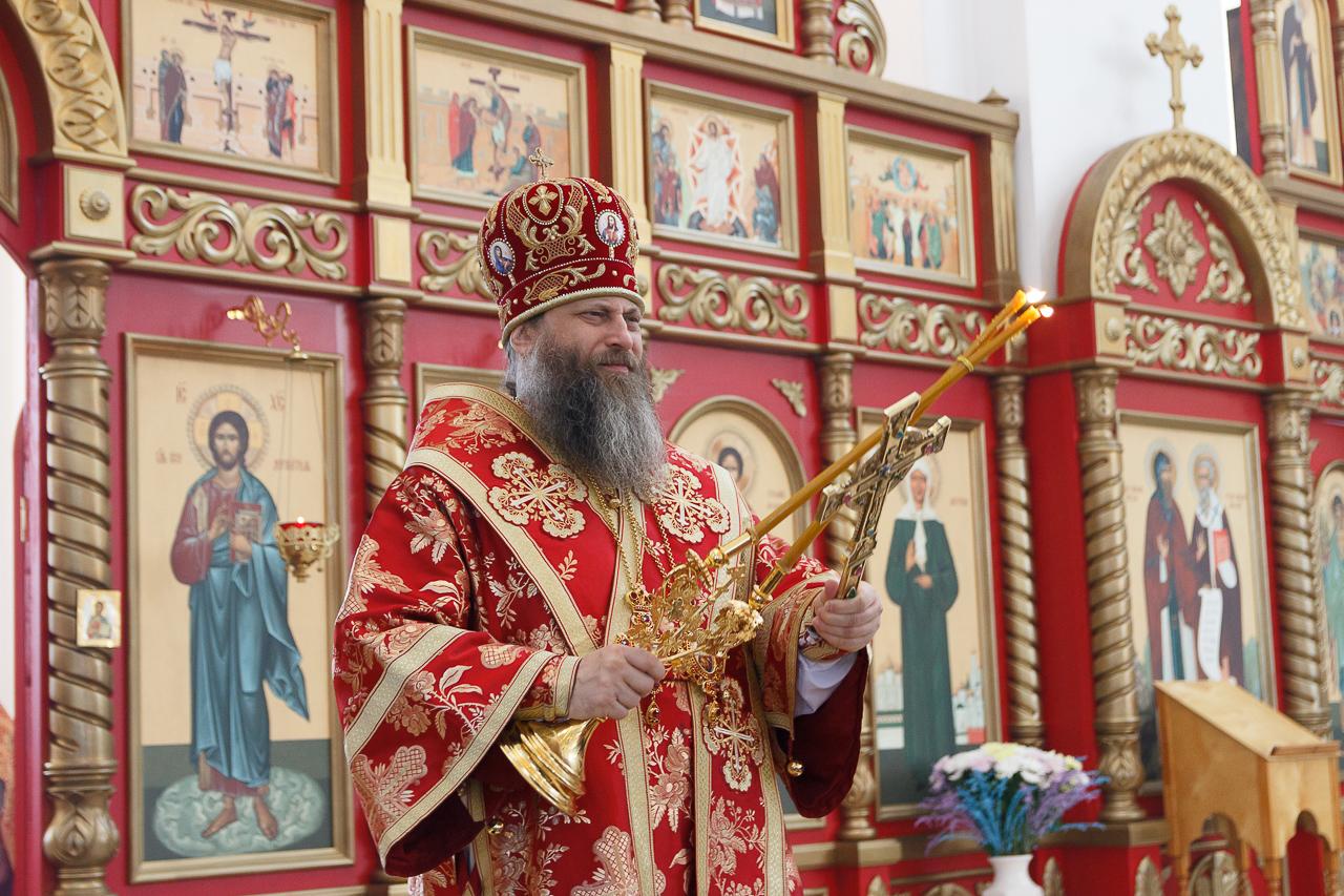 Пасхальное послание митрополита Новосибирского и Бердского Никодима