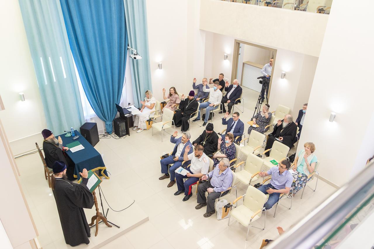 Состоялось собрание Новосибирского регионального отделения Всемирного Русского Народного Собора