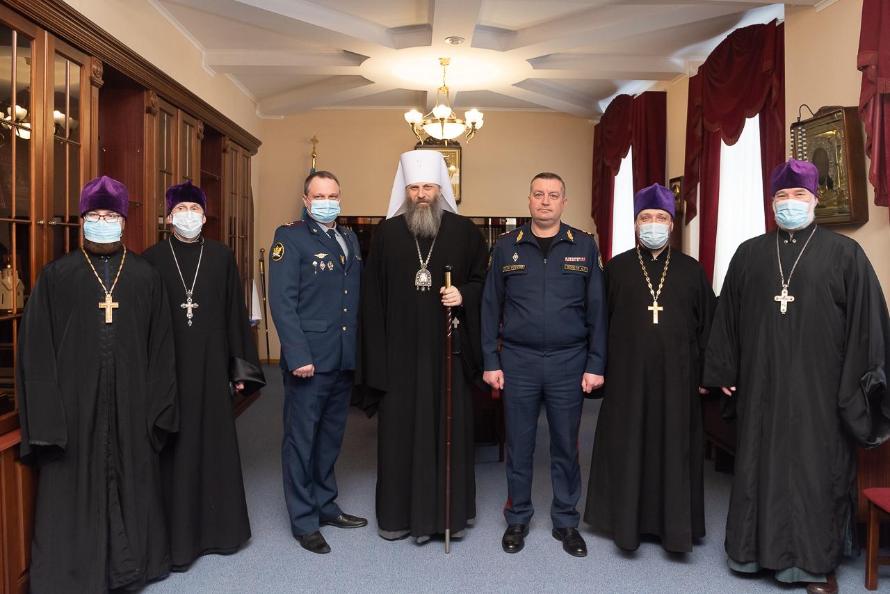 Подписано соглашение о сотрудничестве между Новосибирской епархией и ГУФСИН России по Новосибирской области