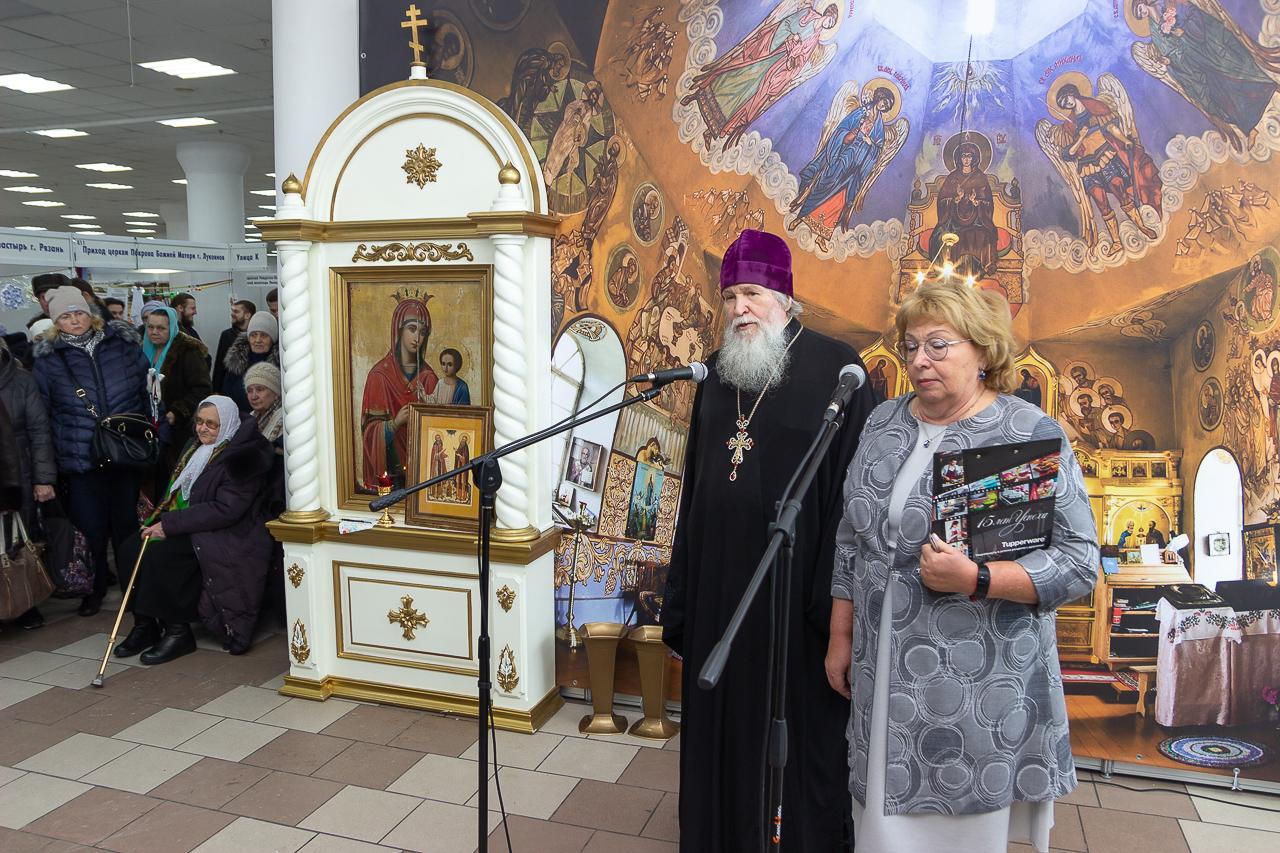 В Новосибирске открылась традиционная выставка «Православная весна»