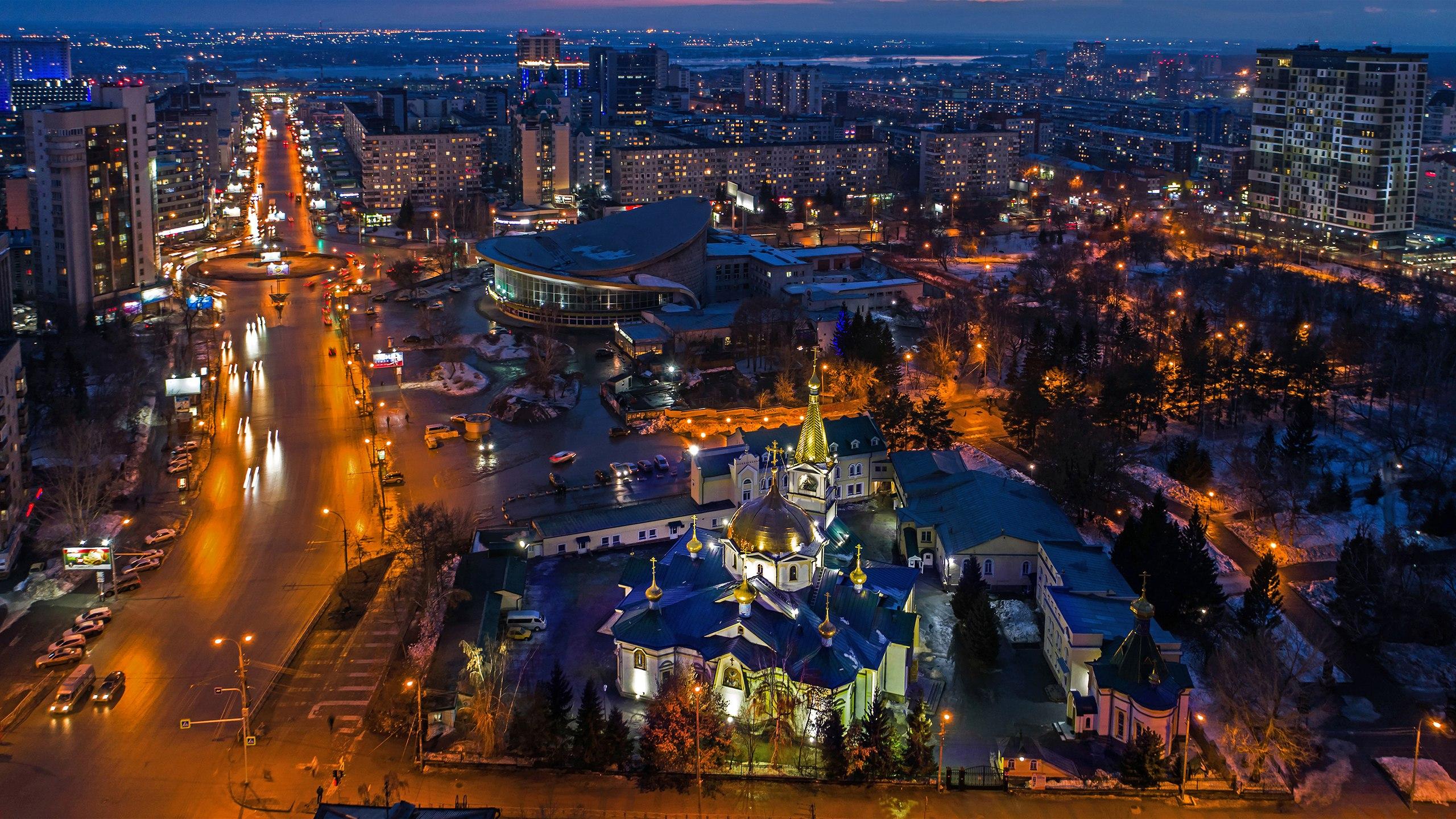 Главный собор Новосибирска отметил престольный праздник