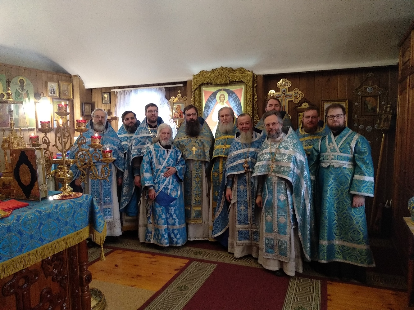 В храме в честь иконы Божией Матери состоялось богослужение по случаю престольного праздника