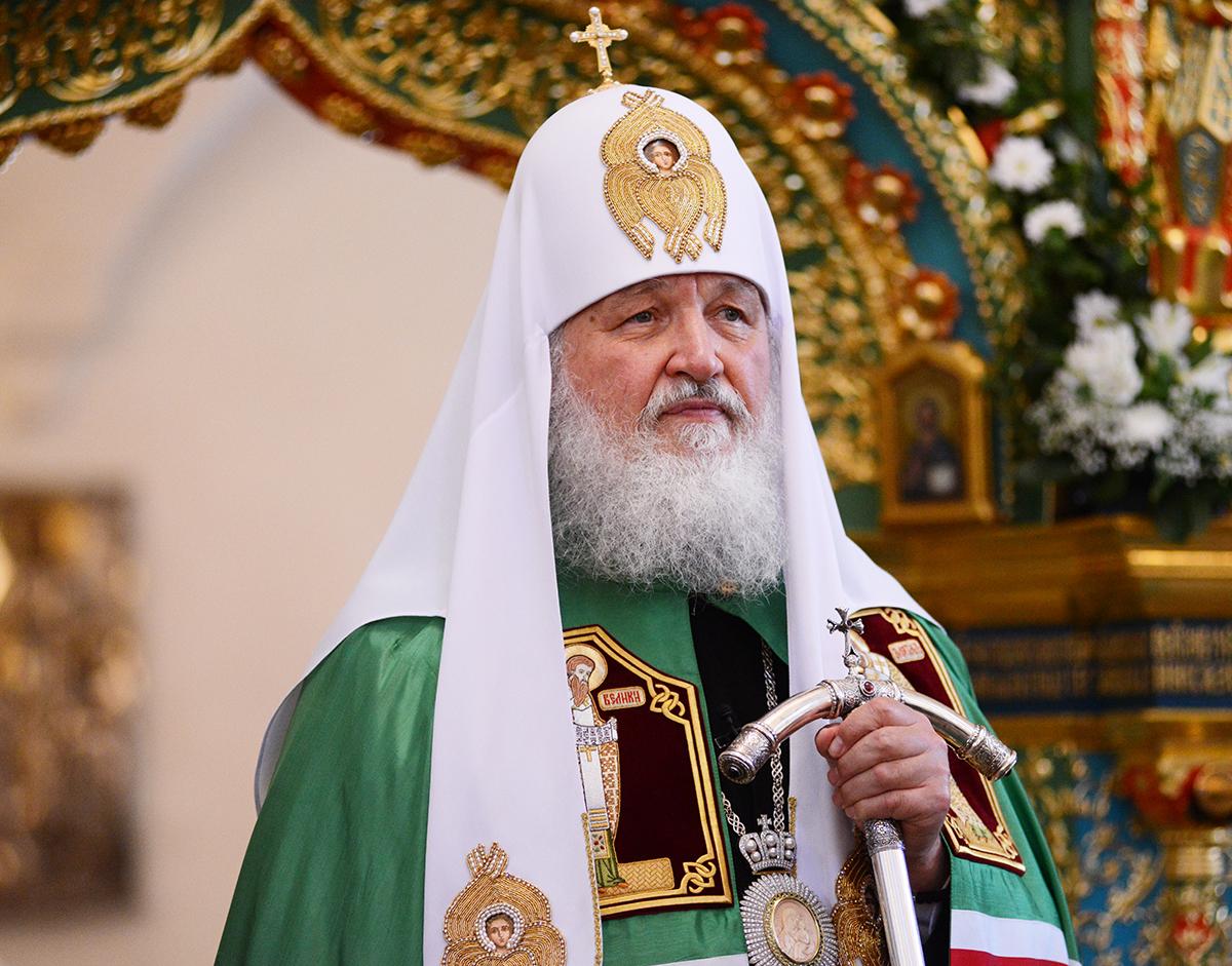Патриарх Кирилл впервый раз совершит литургию ссурдопереводом