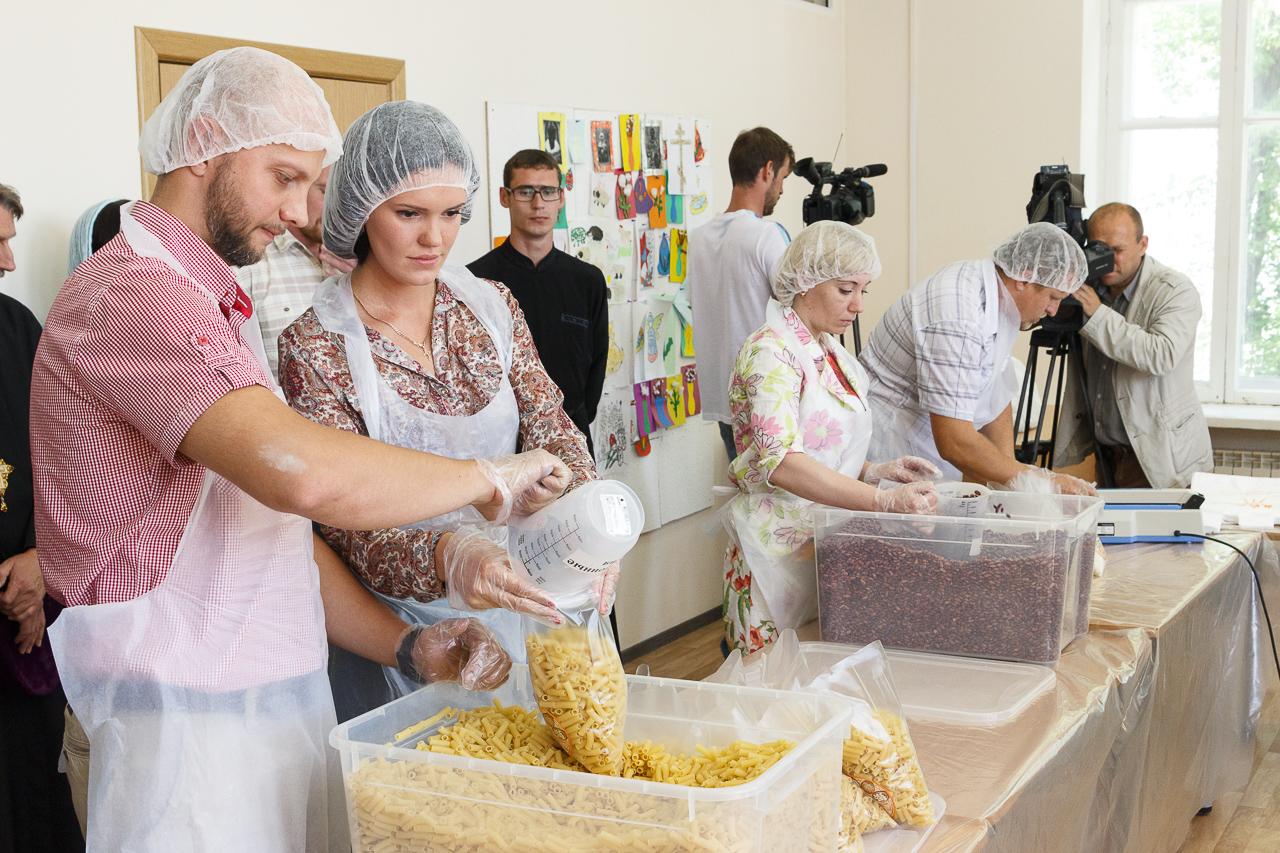 Магазинам иобщепитам Новосибирска избытки продуктов предложено сдавать вбанк еды