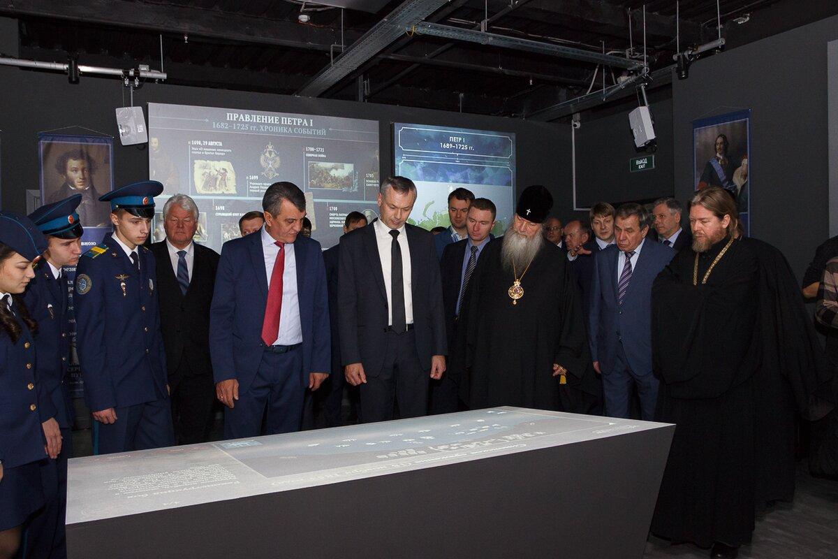 Мультимедийный парк «Россия— моя история» открыли вНовосибирске