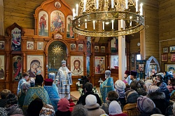 Престольный праздник в старейшем приходе Бердска