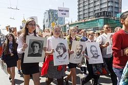 В Новосибирске состоялось праздничное «Шествие буквиц»